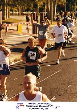 My first marathon with mom